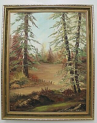 A Vintage Original Painting of Jean Rennie, Oil on Board, Signed by the Artist