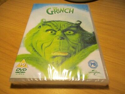 The Grinch [DVD]  DVD ~ Jim Carrey New Sealed