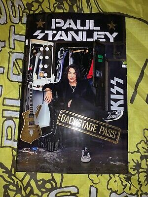 Paul Stanley Backstage Pass Signed Book Kiss Autograph 2019