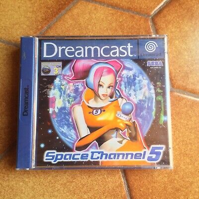 Space Channel 5 Dreamcast Sega Neuf New