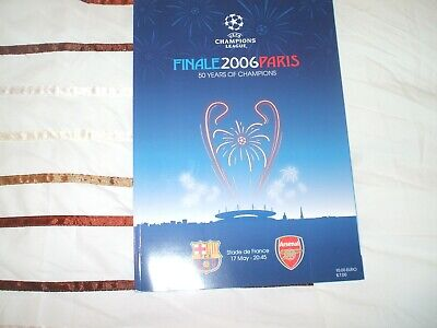 Barcelona V Arsenal Champions League Final 2006 + 50 Years Of Champions