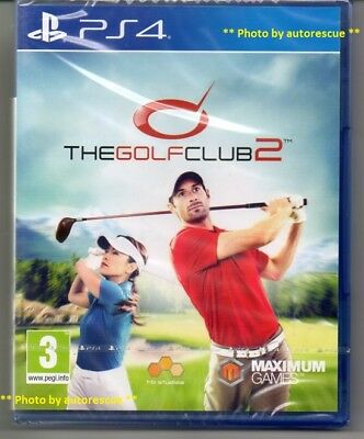 The Golf Club 2  HD  'New & Sealed'   *PS4(Four)*
