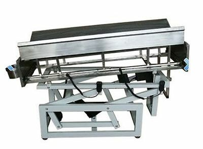 DH-50 Electric Veterinary Surgical Operating Table Stainless Tilt V-Top New