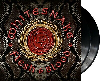 "Whitesnake ""flesh & blood"" 180g heavyweight Vinyl 2LP NEU Album 2019"