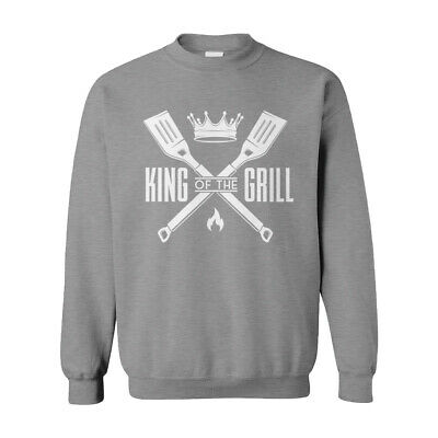 Grillmaster BBQ Food Chef Father's Day Dad Mens T-Shirt King of The Grill T-Shirts Shirts