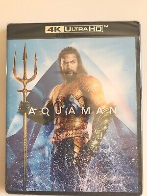 Aquaman 4k UltraHD Brand New In Shrink-wrap!