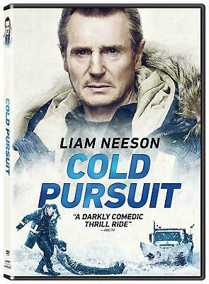 "COLD PURSUIT (DVD, 2019) NEW! ""A Darkly Comedic Trill Ride!"" Liam Neeson"