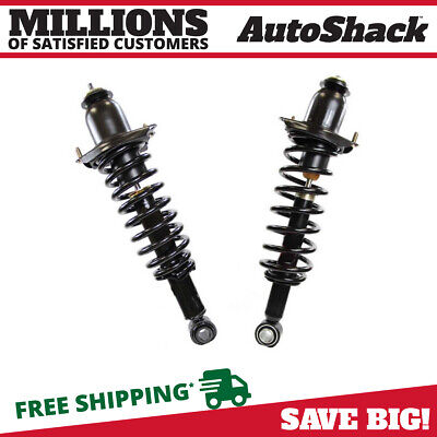 Rear Pair (2) Complete Strut Assembly w/ Coil Spring Fits 2009-2010 Vibe Matrix