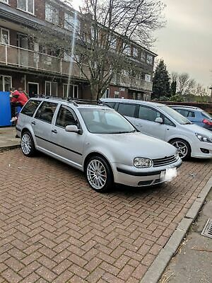 Low mileage VW golf estate