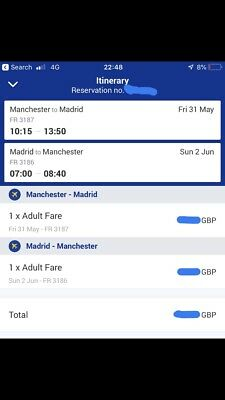 Champions League Final direct flights From Manchester.