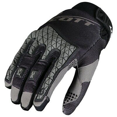 Guanti Da Enduro Gloves Moto Scott Mx Enduro Black Nero  Tg L