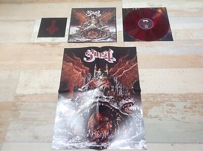 "Ghost Bc Prequelle Limited Edition Red Smoke Vinyl 3D Cover & Bonus 7"" Lp Ghost"
