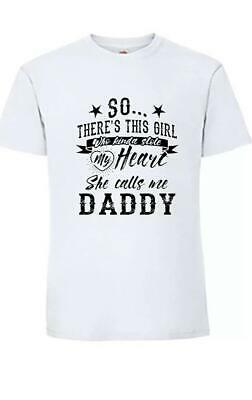 Fathers Day Gifts Tshirts Funny Slogan Best Dad Ever Dads Girl 2019