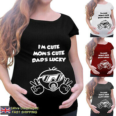 UK Pregnant Maternity Clothes Nursing Tops Mom Breastfeeding T-Shirt Blouse Tee