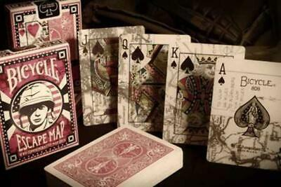 Bicycle-Escape Map Playing Cards