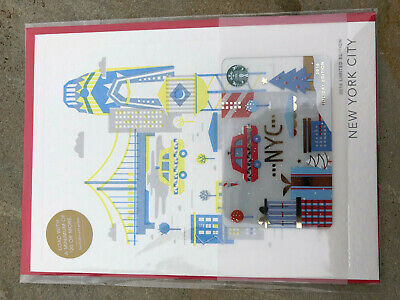Brand new 2016 USA holiday New York City limited edition card set.
