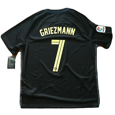 01ccc302880 2016/17 Atletico Madrid Away Jersey #7 Griezmann XL Soccer France Nike NEW