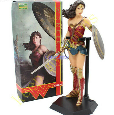 """Crazy Toys DC Wonder Woman Action Figure 1/6TH  Figurine 12"""" Collection Statue"""