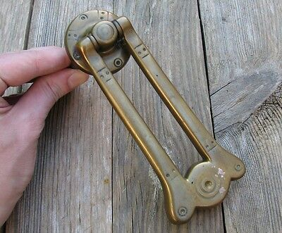 Antique Solid Brass Aesthetic Door Knocker