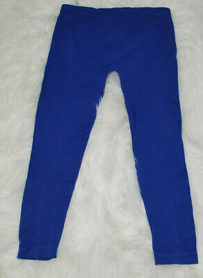Soho Girls Leggings Royal Blue OSFA Style SG-27 Nylon Spandex Dance Sports