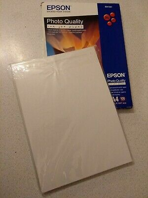 Original Epson A4 Matte Photo Quality Inkjet Paper 102gsm 75 Sheets C13S0410