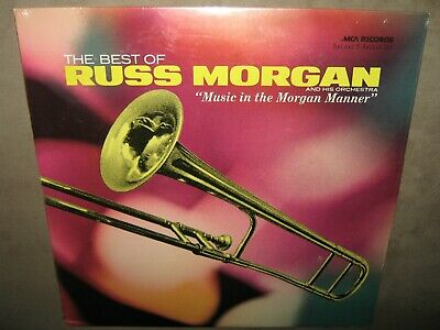 RUSS MORGAN The Best of FACTORY SEALED Double Vinyl 2 LP 1972 MCA2-4036 Greatest