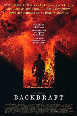Backdraft (1991) original movie poster reproduction - single-sided - rolled