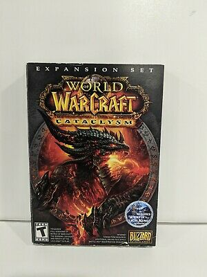 World Of Warcraft Cataclysm Expansion Used PC CD-ROM Game