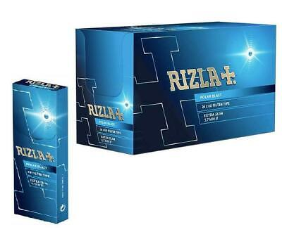 Rizla Polar Blast Filter Tips Extra Slim Pop Crushball Menthol Smoking Rolling