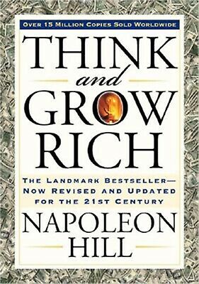 Think Grow Rich Landmark Bestseller Now Revised Updated for 21st By Hill Napoleo