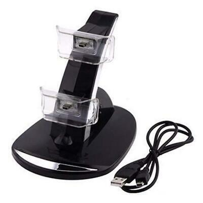 Dual USB LED Charging Charger Station Stand Docking for PS3 Controller. Sony