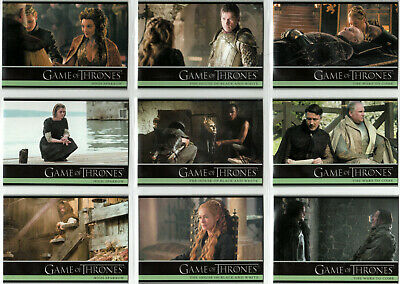 Game Of Thrones Season 5 Base Trading Card Set (1-100)