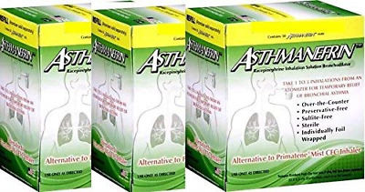 Asthmanefrin Asthma Medication Refill, 30 Count Pack of 3