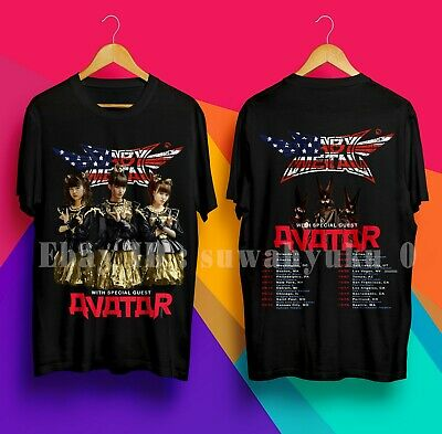 BABY METAL TOUR T-shirt Tee 2 Sides Black New Tshirt For Men's SIze
