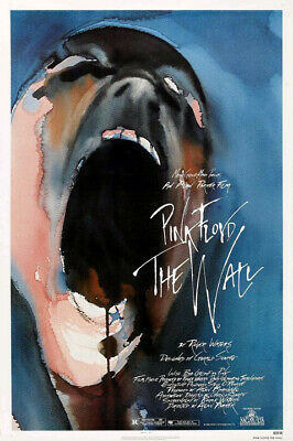 Pink Floyd---The Wall (1982) original movie poster - single-sided - rolled