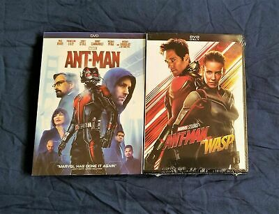 Antman 1 and 2 (Ant-man and the Wasp) DVD Set.  Brand New!  Ant Man Bundle