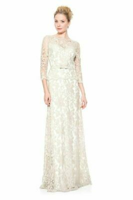 a35215f2add0 Tadashi Shoji Petite Peony Embellished Lace 3/4 Sleeve Gown Formal Dress  10P Nvy. $169.99 Buy It Now 20d 4h. See Details. Tadashi Shoji ILLUSION LACE  ¾ ...