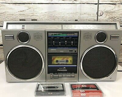 Vintage Panasonic  RX-5050 Cassette Tape Player Recorder Stereo Boombox