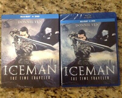 ICEMAN: THE TIME TRAVELER )BLU-RAY/DVD)NEW Authentic US Release-Donnie Yen