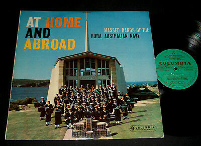 Massed Bands Of The Royal Australian Navy 1962  Lp – At Home And Abroad