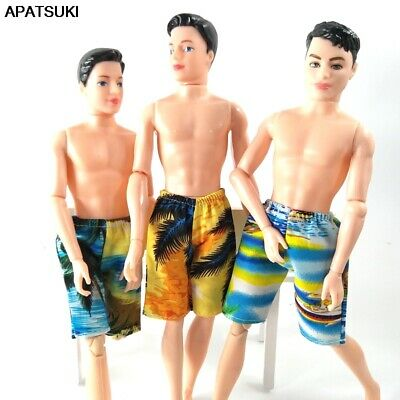 High Quality Handmade Shorts For Ken Doll Beach Shorts Clothes For Male Doll Toy