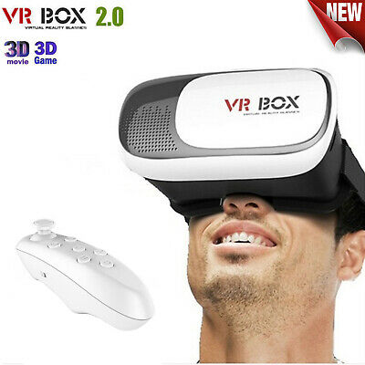 VR Headset VR BOX Virtual Reality Glasses 3D for Samsung and XPhones  8 7 Plus👍