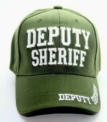 e6517610 Deputy Sheriff Embroidery Hat Baseball Cap Adjustable Strap One Size Fits  All
