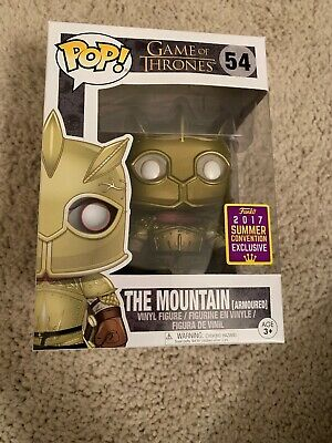 Funko pop game of thrones The Mountain Armored SDCC Exclusive