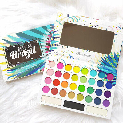 Bh Cosmetics Take Me Back To Brazil 35 Color Pressed Pigment
