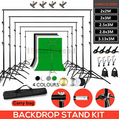 Studio Heavy-Duty Backdrop Screen Stand Background Support Stand Photography KIT