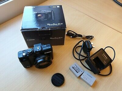 Canon PowerShot G1 X 14.3MP Digital Camera - with underwater case wp-dc44