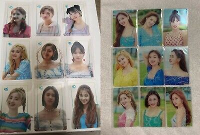 IZ*ONE pop up store official goods photo set photocard set (new)