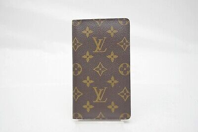 Authentic Louis Vuitton Diary Cover Agenda Posh Browns Monogram 373624