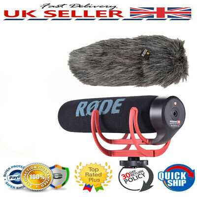 RODE VideoMic GO Directional Microphone On Camera for Canon Nikon DSLR Camcorder